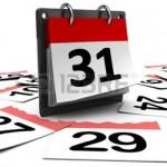 calendrier pour page web